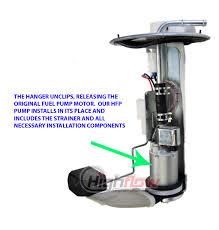 new intank fuel pump arctic cat 650 v twin h1 v2 2004 2006 49040 guarantee