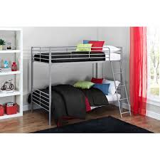 Convertable Beds Mainstays Twin Over Twin Convertible Metal Bunk Bed Multiple