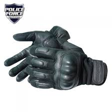 police force hard knuckle gloves