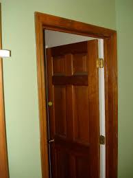 painting wood trim doors white