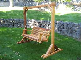 outdoor wooden swing plans wooden a frame swing plans diy diy pallet swing