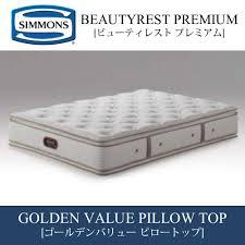 simmons mattress. Simmons Mattress BeautyRest Premium GOLDEN VALUE PILLOW TOP Double Beautyrest Golden Value Pillow-top AA13221