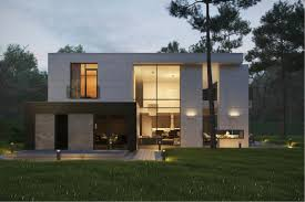 Modern Home Exteriors With Stunning Outdoor Spaces - Modern exterior home