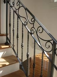 Staircase Railing Ideas interior iron stair railings best iron stair railing ideas 3997 by xevi.us