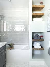 bathroom ceiling carrara marble subway tile ideas perfect designs mid sized contemporary master gray t