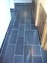 Mike Thompson Construction Inc Slate Tile Bathroom In New Germany Blue Slate Floor Tiles
