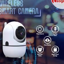̄➱ Camera giám sát thông minh Mini PTZ Wifi IoT 1080p 2MP Cvq