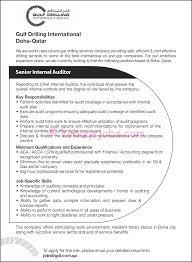 Resume For Internalon Template Auditor Management Sample Objective