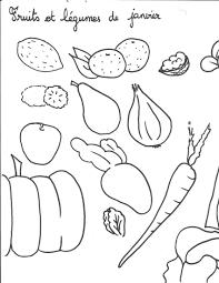 Coloriage De Fruits Et L Gumes Coloriages Tech Par Rapport