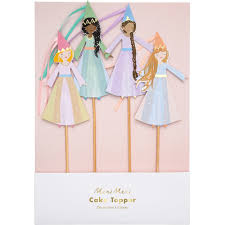 Magical Princess Cake Toppers Love Of Character