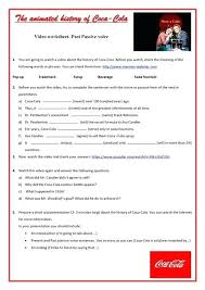 Active Passive Voice Quiz Online Video Worksheet Worksheets