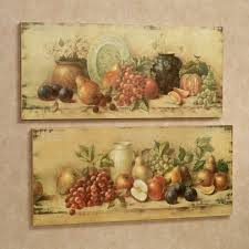 >wall art astounding pictures about horizontal metal wall art large  classic two canvas unframed oil painting antique fruit wall art old grapes apple orange pear plate