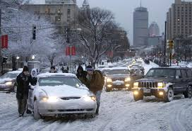 a harsh snowy and slippery winter is contributing to the rise in car insurance