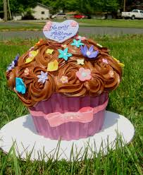 Giant Mothers Day Cupcake Cakecentralcom