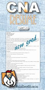 Free Sample Cna Resume Examples Visit To Reads