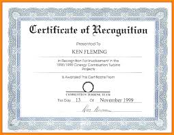 Employee Appreciation Certificate Template Recognition