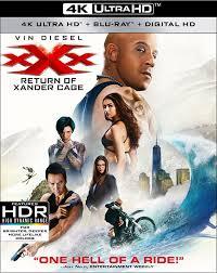 xXx Return of Xander Cage 4k Ultra HD Blu Ray digitalchumps