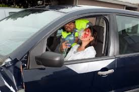 car accident injuries. unconscious driver car accident injuries