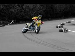 this is supermoto racing drifts crashes wheelies youtube