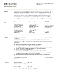 A Summary For A Resumes Sample Resume Summary Statement 9 Examples In Word Pdf