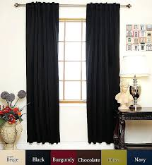54 inch length curtains black rod pocket energy saving thermal insulated blackout curtain inch length 54 inch length curtains