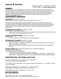 CMS Resume Dec 2014 IP. Cameron M. Simonton 1473 Pine Grove Ave.,  Jacksonville, FL 32205 (904