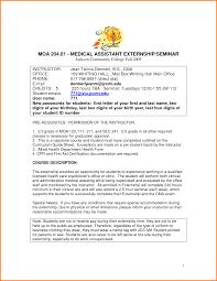 10 Medical Assistant Externship Resume Resume Cover Note