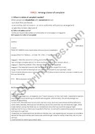Example Letter Of Complaint To Newspaper How To Write A Complaint