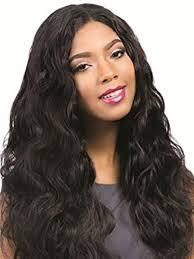 women s human hair wig wavy long style vogue wig accessory share