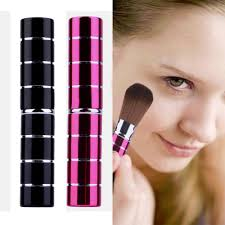 aliexpress new design 1pcs mini soft makeup brush retractable pro foundation cosmetic blusher face powder brushes beauty tools top quality from