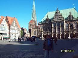 Путешествие в Бремен из Финляндии Тампере отчет Ольги  Ратушная площадь Бремен