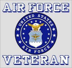 air force veteran crest decal us air