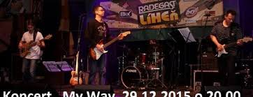 Koncert My Way Partymenueu
