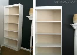 how make laminate bookcase look like built bookshelf diy build simple tutorial custom wireless computer speakers