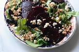 beet and blue salad