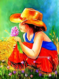 15 best child figure painting images on figure paintings of girl child