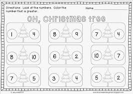 Kindergarten Kids : Free Printable Christmas Math Worksheets Pre ...