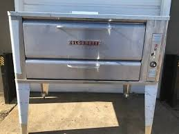 new blodgett 951 single deck pizza oven bakery oven
