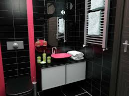 Black And Pink Bathroom Accessories Bathroom Design Wonderful Pink
