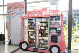 Benefits Of Vending Machines Extraordinary From Drab To Fab You Can Now Get Benefit Cosmetics Via Vending