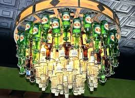 recycled wine bottle chandelier chandelier made from wine bottles bottle chandelier unique chandeliers made out of