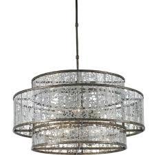 mercury glass chandelier pendant shades