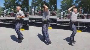 Police Officer Skills Maryland Police Officer Shows Off Jump Rope Skills Wtte