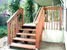 backyard how to build outdoor stairs porch wooden steps outside wood design ideas outer staircase basic building deck dog for bed sta
