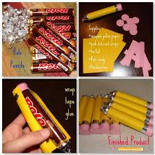 how to make rolo or candy pencils diy back to gifts and treats
