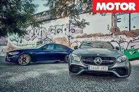 Coupe Series bmw m3 vs m5 : 2018 BMW M5 vs 2018 Mercedes-AMG E63 S comparison review | MOTOR