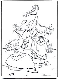 Twee Pelikanen Kleurplaten Vogels
