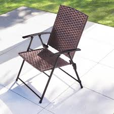 all weather wicker folding chairs