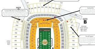 Steelers Seating Chart With Rows Particular Heinz Field Seating Chart Kenny Chesney Heinz
