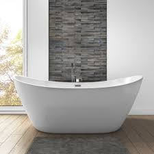 Image Feet Duke Modern Curved Freestanding Bath 1700 800 680mm Mfsb09 Furniture 123 Duke Modern Curved Freestanding Bath 1700 800 680mm Furniture123